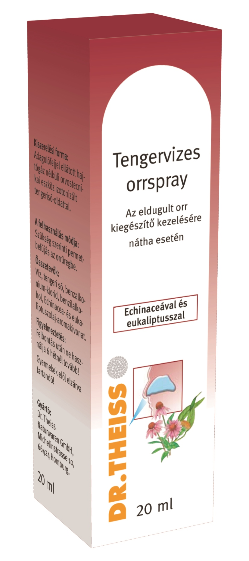 Dr. Theiss Tengervizes orrspray echinaceával 20 ml