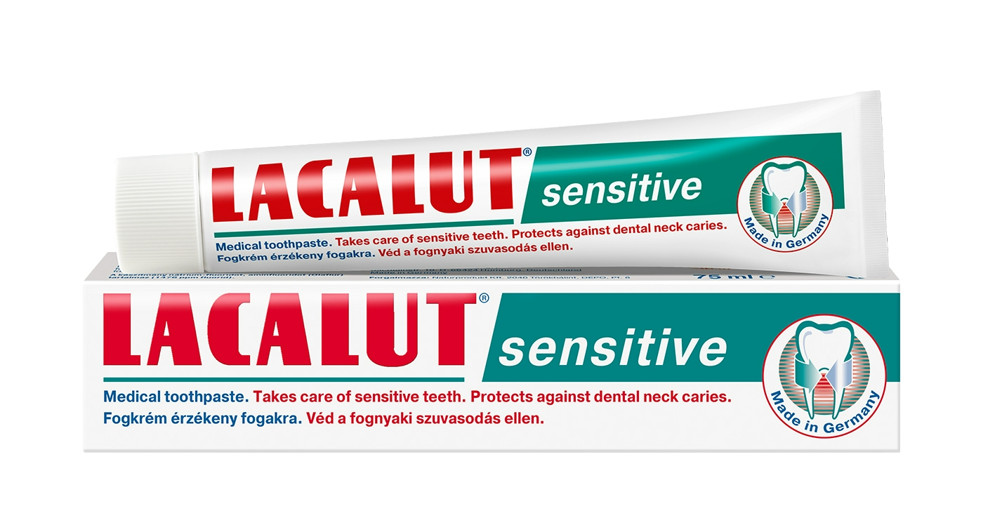 Lacalut sensitive fogkrém 75ml