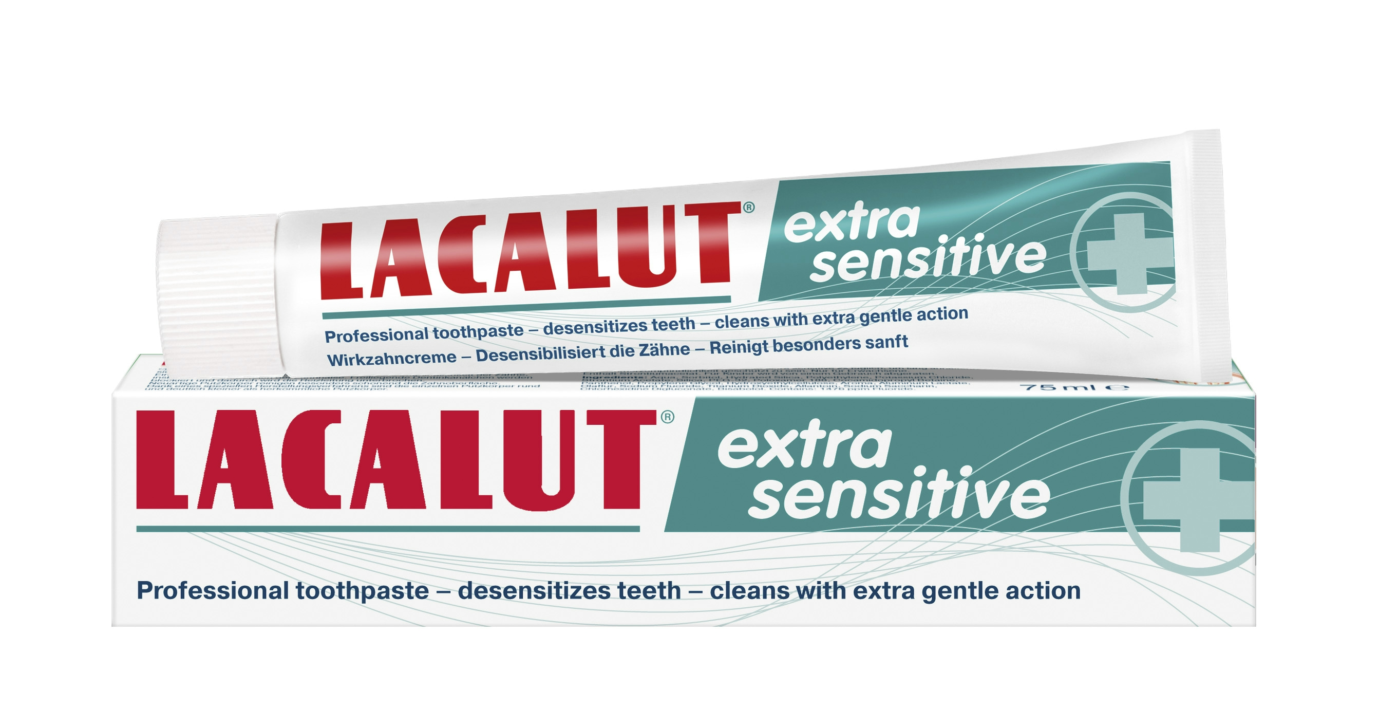 Lacalut extra sensitive fogkrém 75 ml