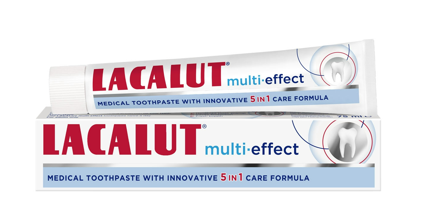 Lacalut multi-effect fogkrém 75 ml